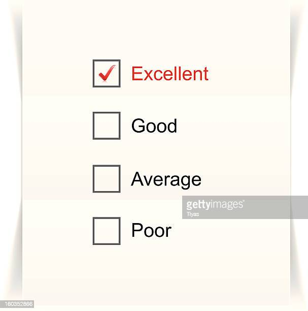 feedback form - report card stock illustrations