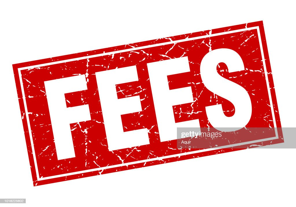 fees square stamp