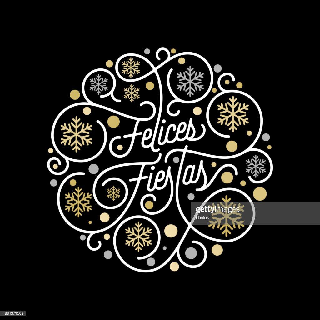 kalligraphie schriftzug und goldene schneeflocke muster auf weiem hintergrund fr grukarten design goldene weihnachten blhen swash urlaub vektortext - Urlaubsantrag Muster
