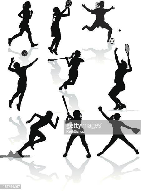 Female Athletes - Softball, Tennis, Soccer, Lacrosse, Volleyball, Basketball