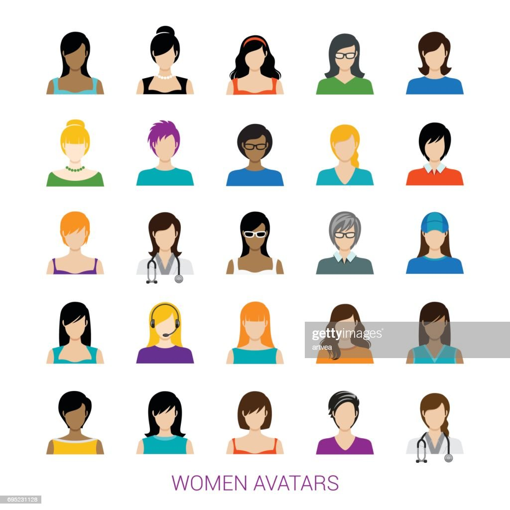 Female Avatar Collection