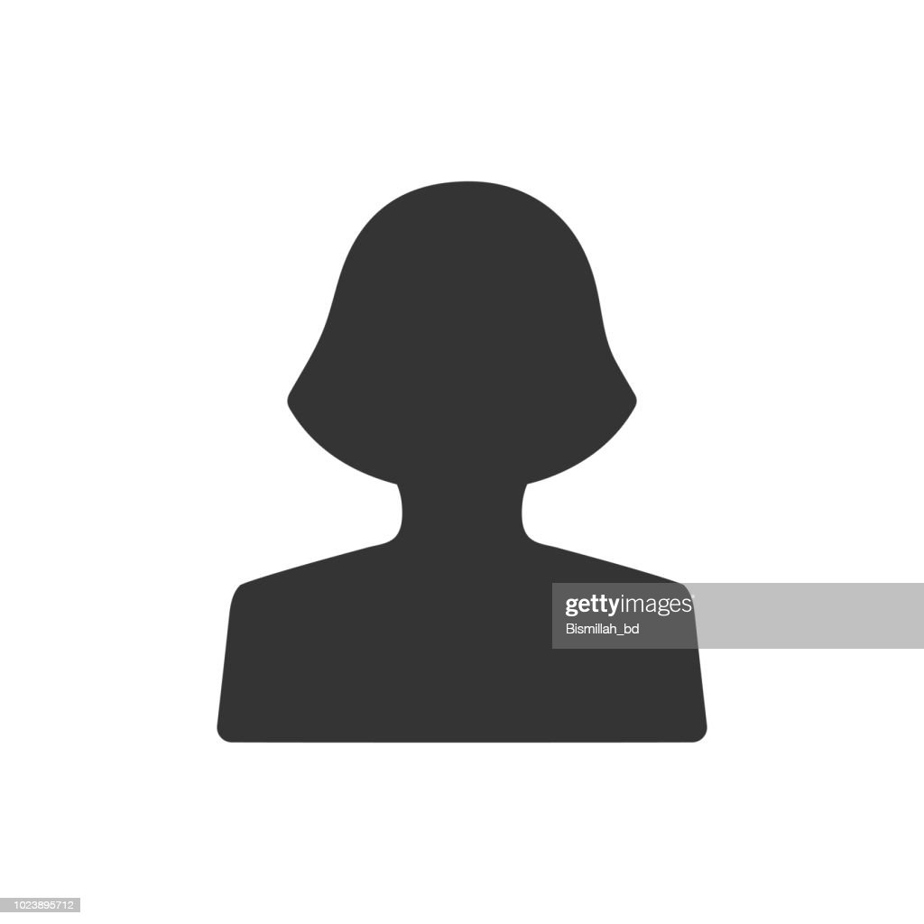 Female avatar icon