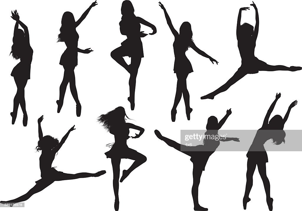 Female ballet dancing