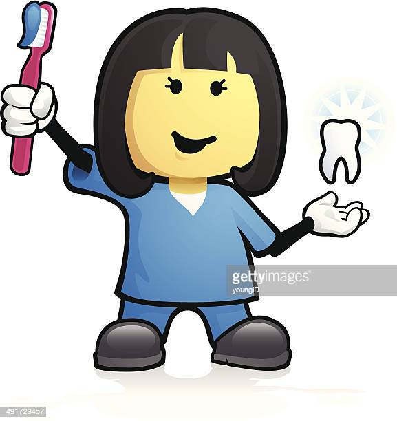 Dental Assistant Stock Illustrations And Cartoons