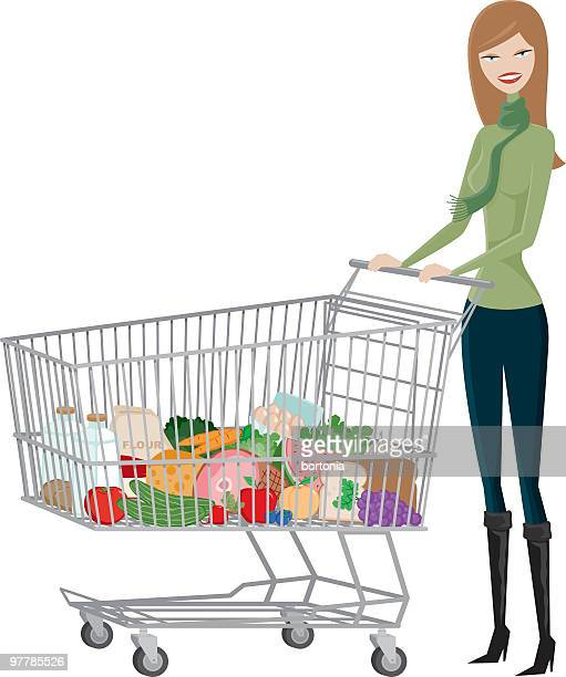 Female Grocer Shopper