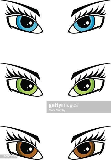 Female Human Eye
