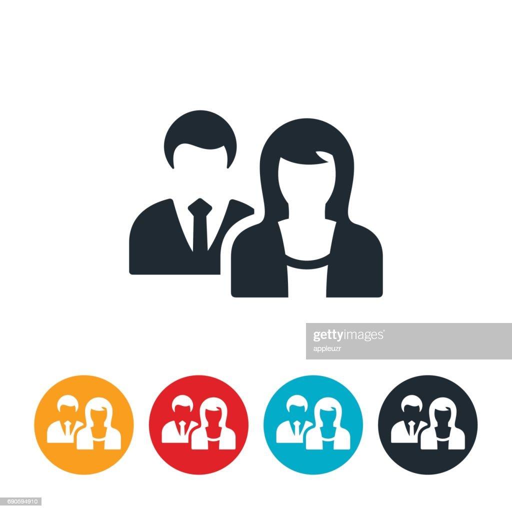 Female Led Business Icon