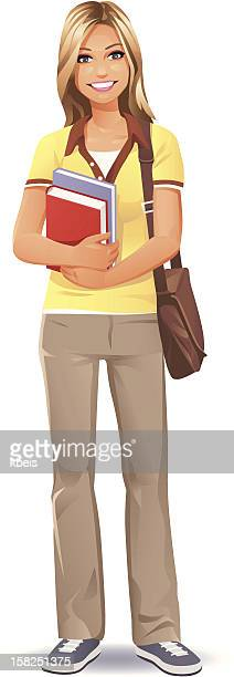 Female Student (blonde)