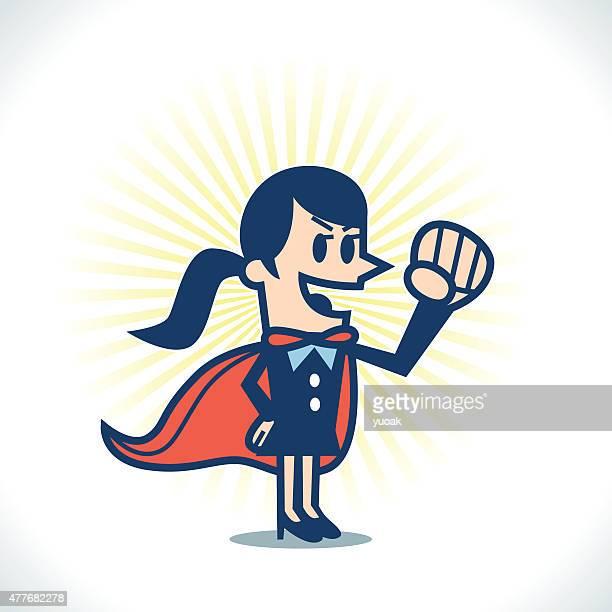 Weibliche Super-Helden