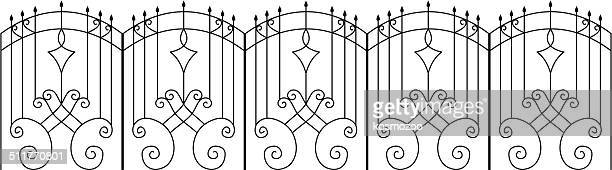fence - pastry lattice stock illustrations, clip art, cartoons, & icons