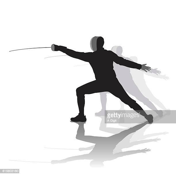 Fencing Pose