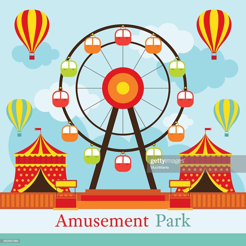 Ferris Wheel, Amusement Park, Carnival, Fun Fair,