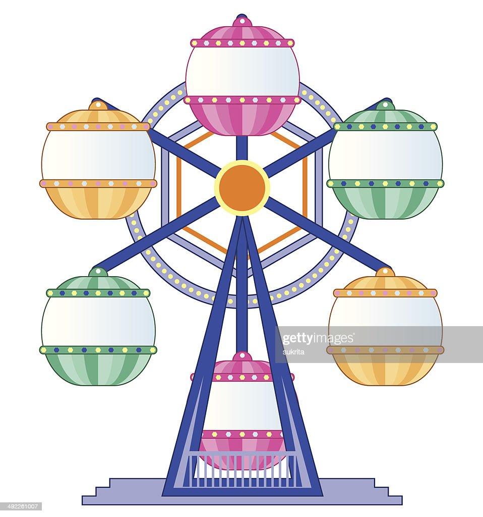 Ferris wheel - Illustration