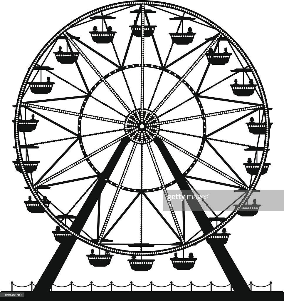 Ferris Wheel : stock illustration