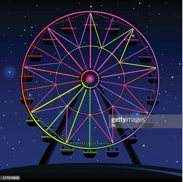 ferris wheel stock illustrations and cartoons getty images