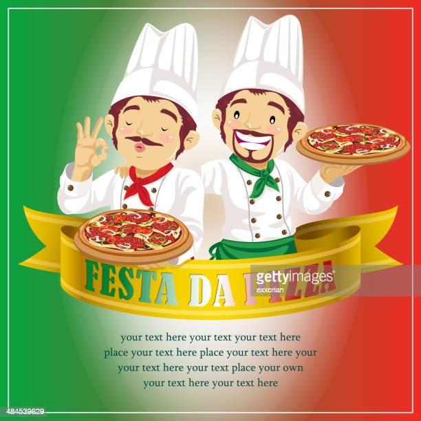 ilustrações de stock, clip art, desenhos animados e ícones de festa da pizza - pizzaria
