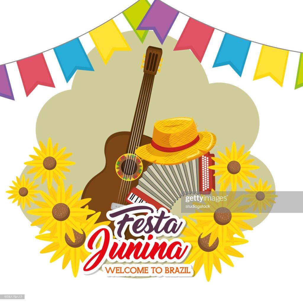 Festa junina design