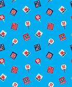 festival icon pattern of Japan