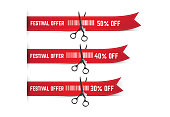 Festival Sale Offer Sticker Collection