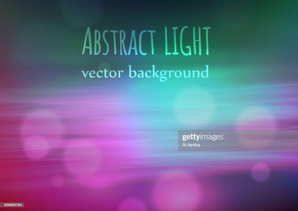 Festive background with defocused lights