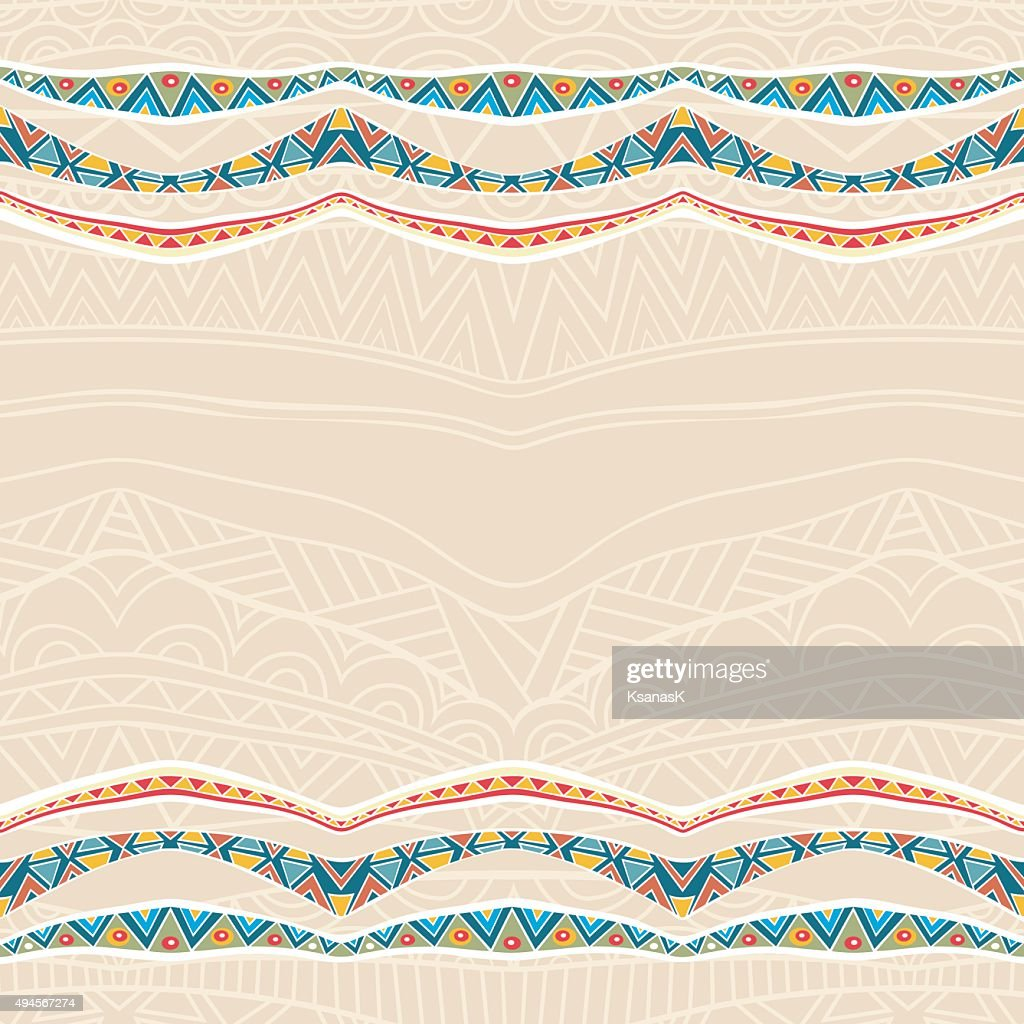 Festive Background With Ornate Ribbons