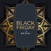 festive banner sale black friday dark