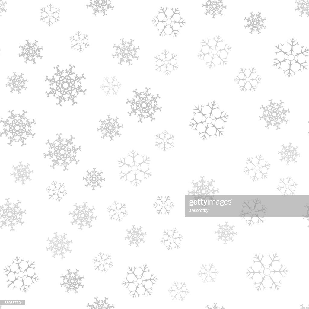 Festive Christmas Background Of Snowflakes For Your Design Of