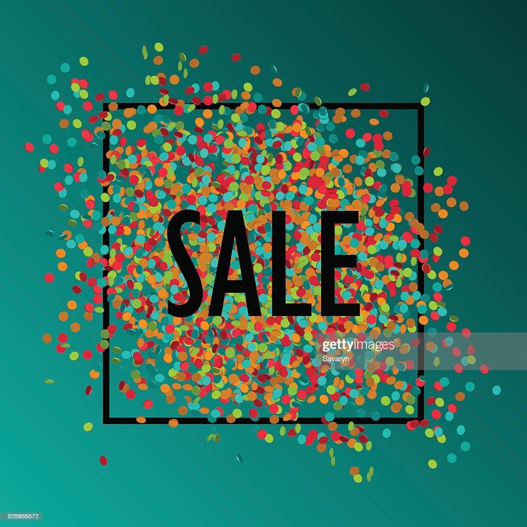 Festive sale background