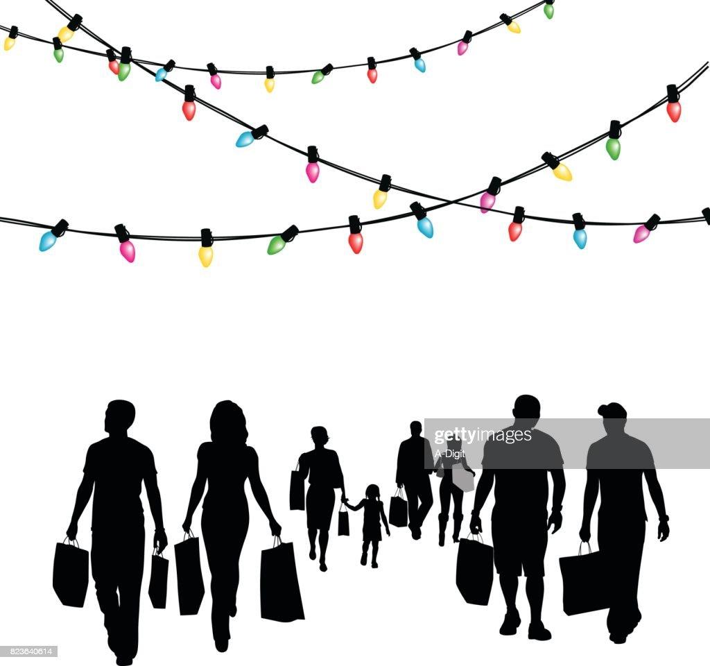 Festive Shopping Deals : stock illustration