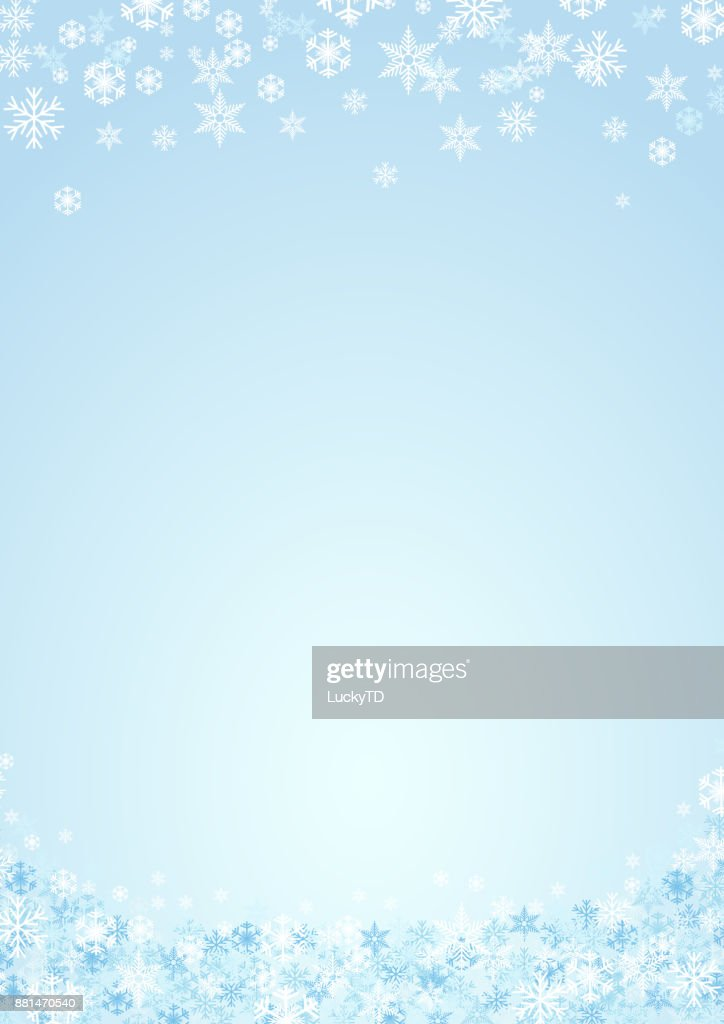 festive vertical christmas background and winter with copy space