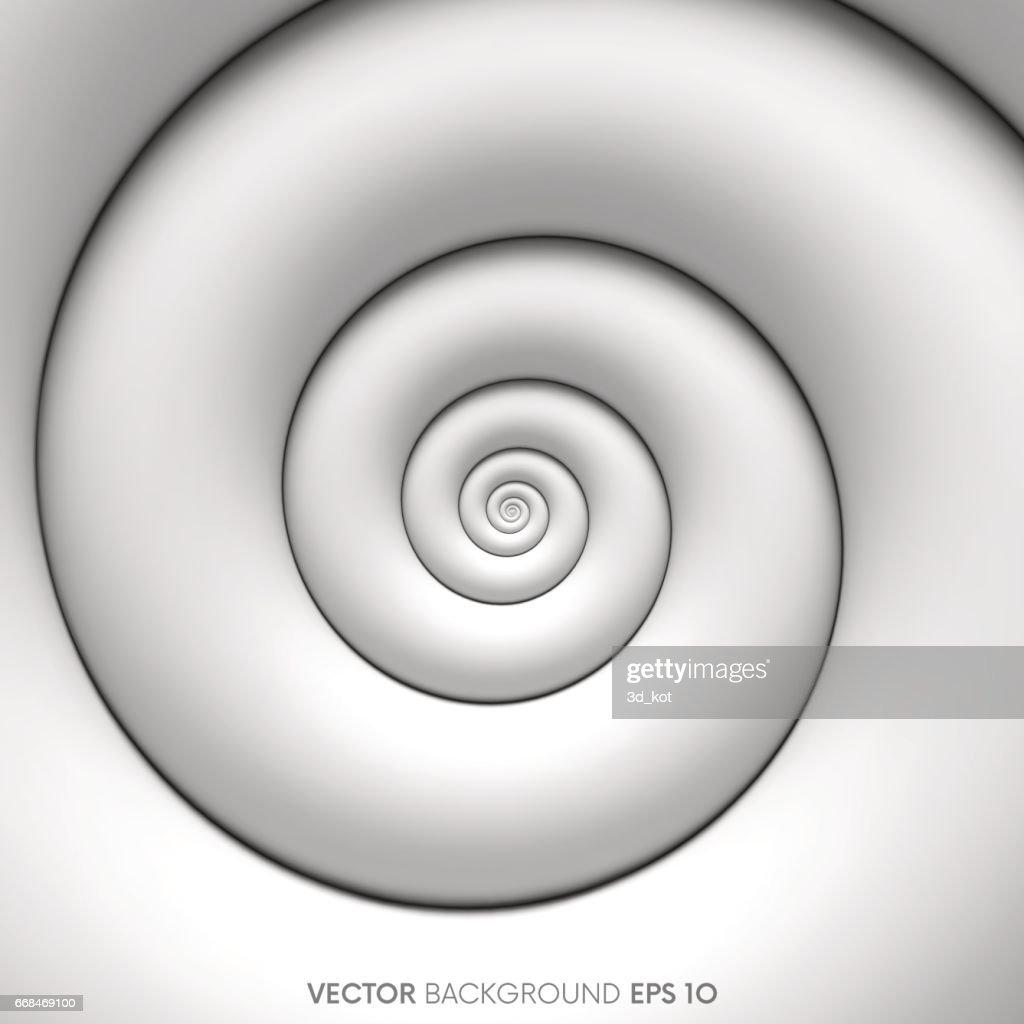 Fibonacci spiral background