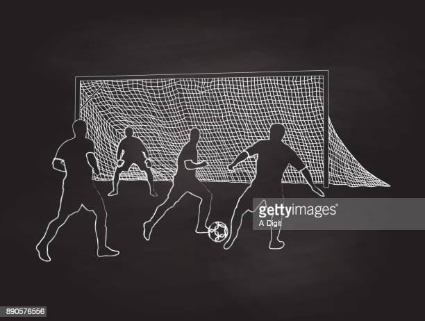 Field Soccer Practise
