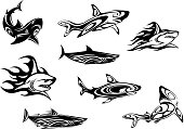 Free download of Tribal Fish Tattoo vector graphics and