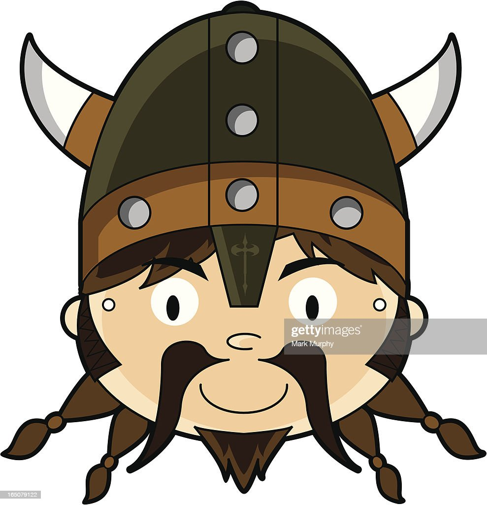 Fierce Viking Childrens Paper Mask Template High Res Vector Graphic Getty Images