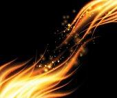 Fiery background