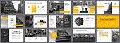 Fifteen Strategy Slide Templates Set