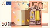 Fifty euro banknote