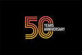 Fifty Year anniversary design