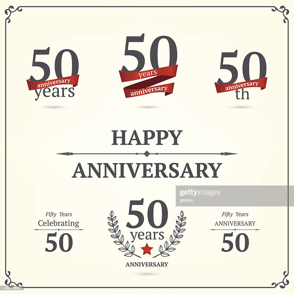 Fifty years anniversary collection