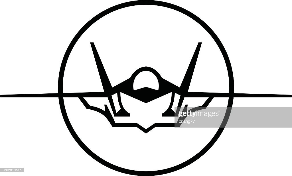 Fighter Jet Vector Icon