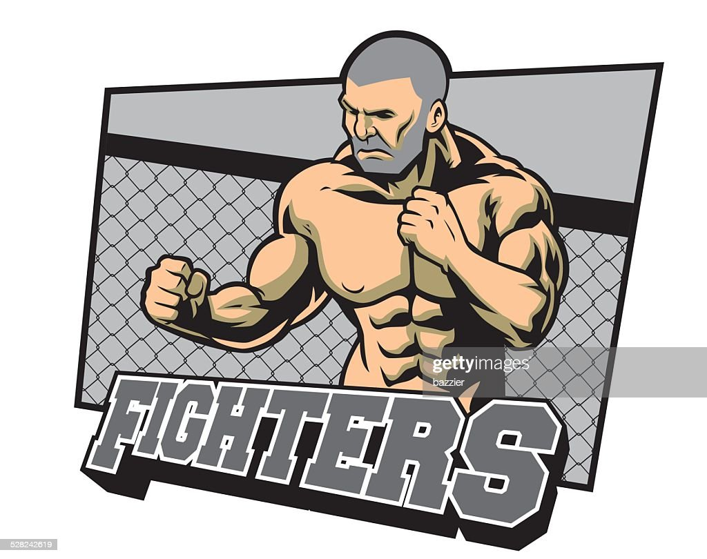 fighter ready for fighting