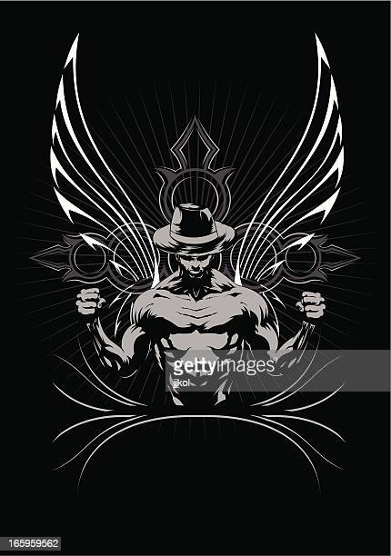 mma fighter - knockout stock illustrations, clip art, cartoons, & icons
