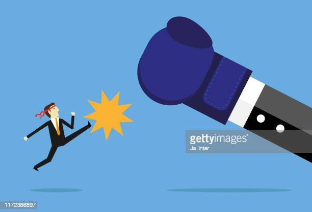 fighting boss - office politics stock illustrations, clip art, cartoons, & icons