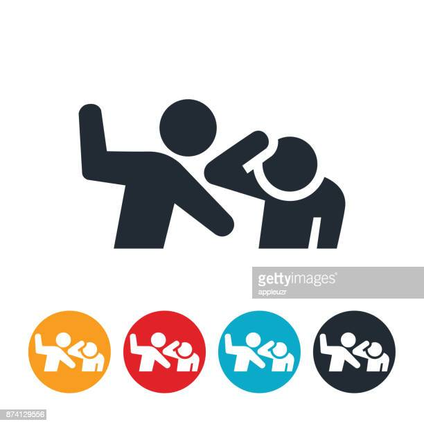 fighting icon - slapping stock illustrations, clip art, cartoons, & icons