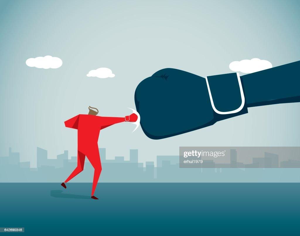 Fighting : stock illustration