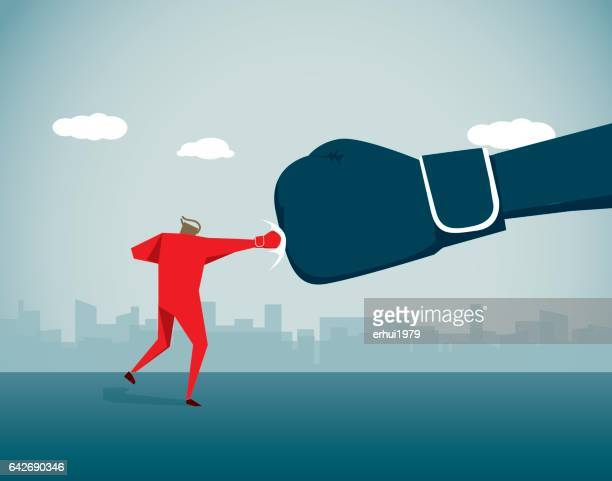 fighting - anti bullying symbols stock illustrations
