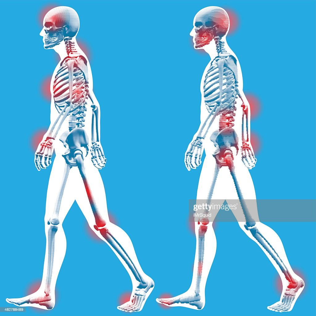 Figure Walking Side View Vector Art   Getty Images