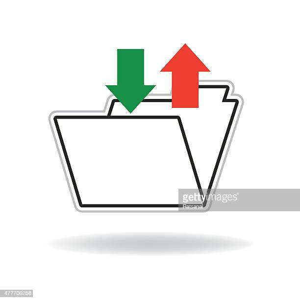 file data in and out icon - {{relatedsearchurl('county fair')}} stock illustrations, clip art, cartoons, & icons