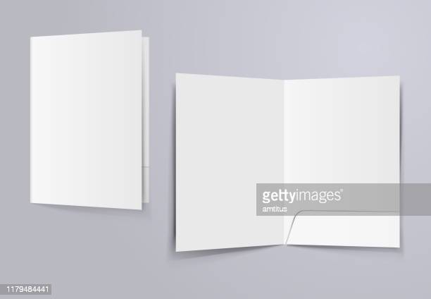 file folder mockup - model stock illustrations