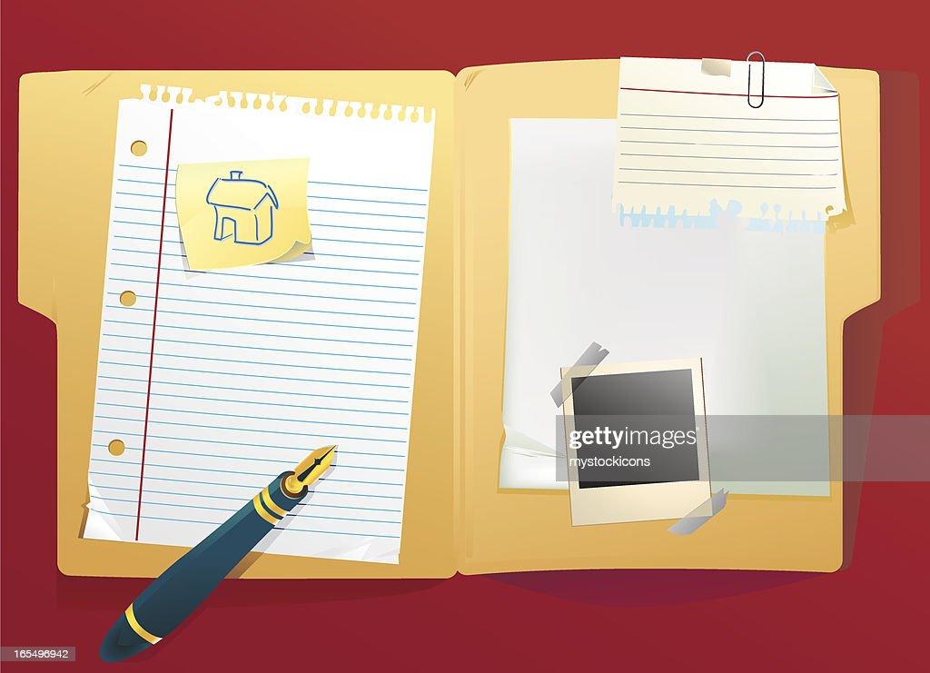 File Folder : stock illustration